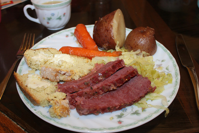 Corned Beef and Cabbage Flickr Matt Johnson