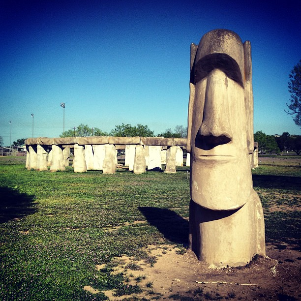 Easter Island heads Corey Taratuta Flickr