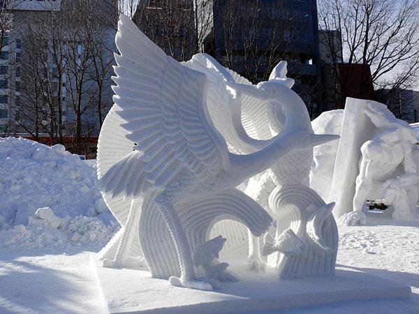 Photo credit: Sapporo Snow Festival