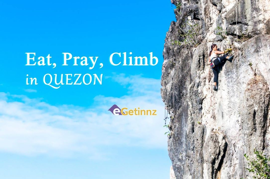 Eat, Pray, Climb in Quezon