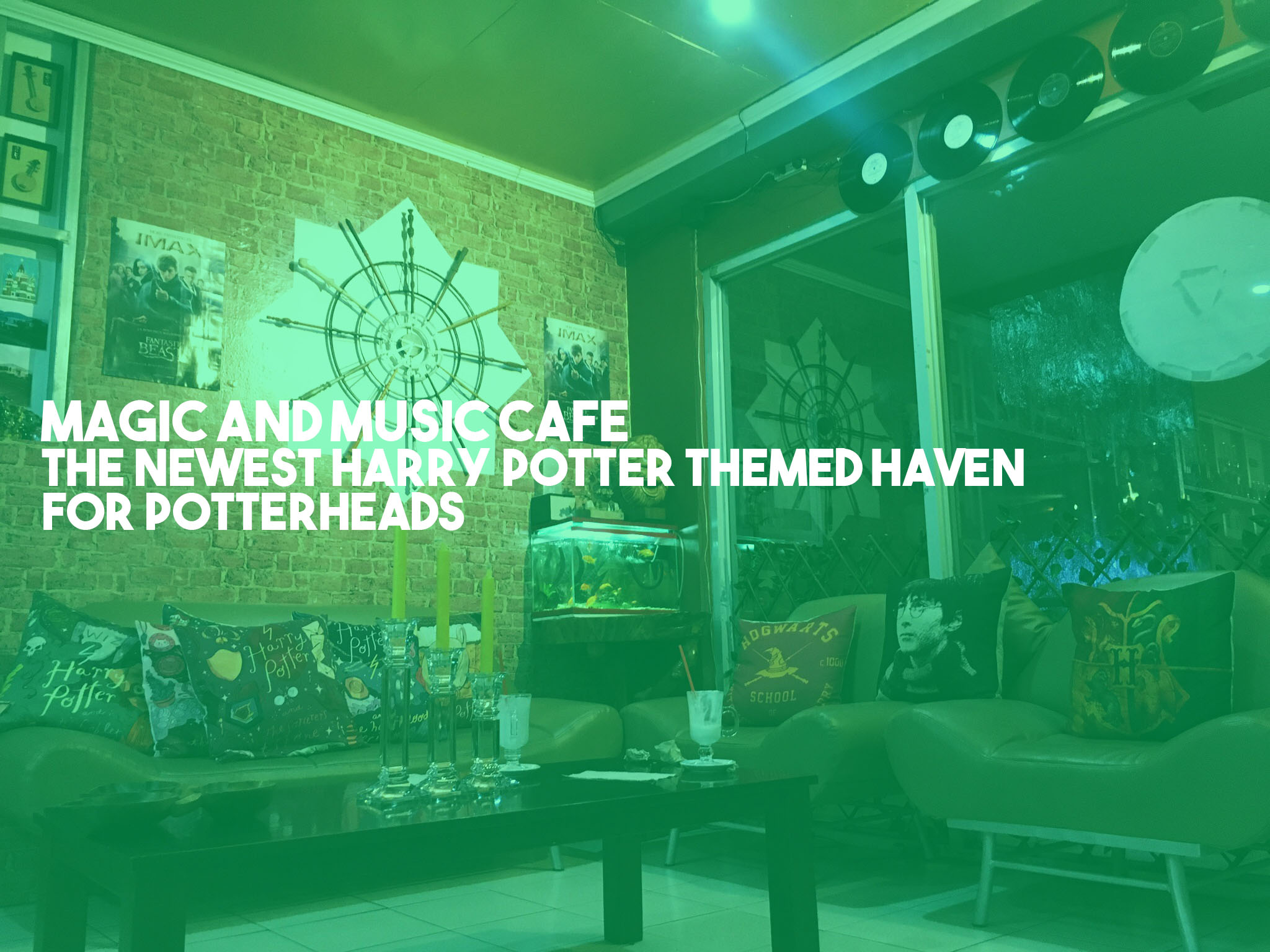 Magic and Music Cafe for Potterheads
