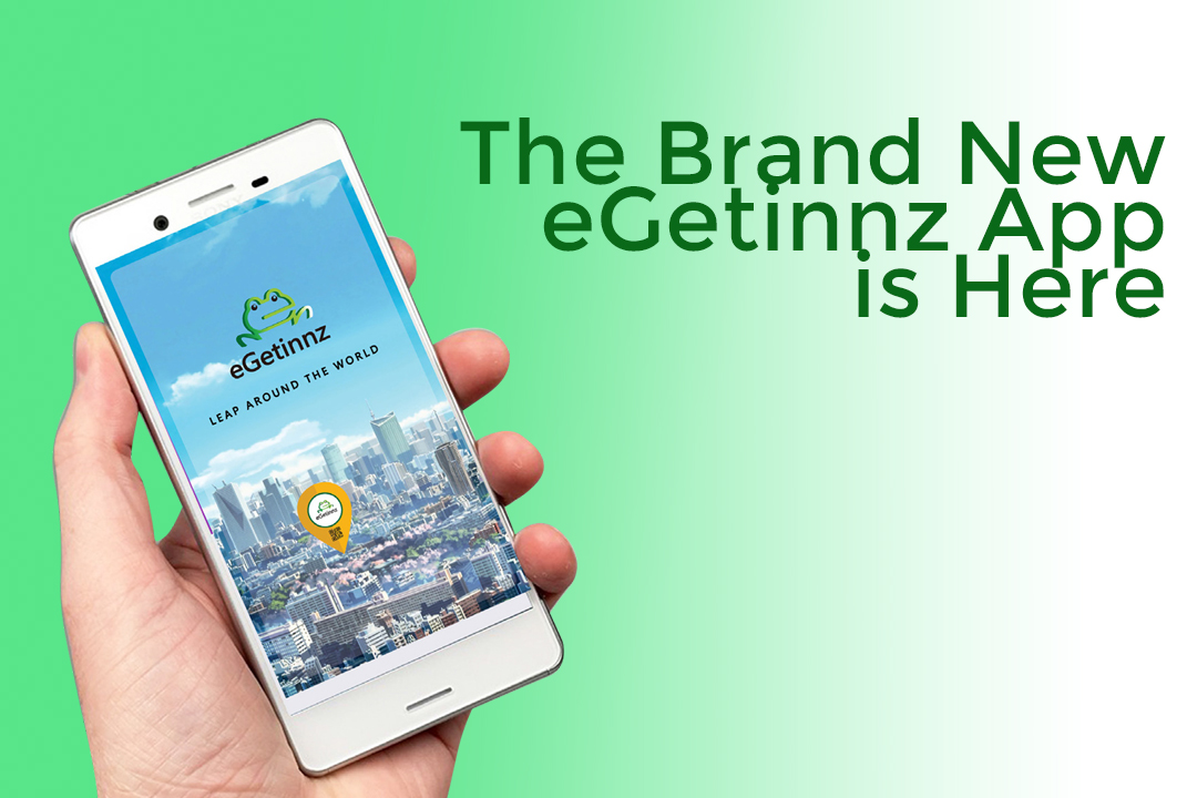 eGetinnz Launches its Brand New 2018 App